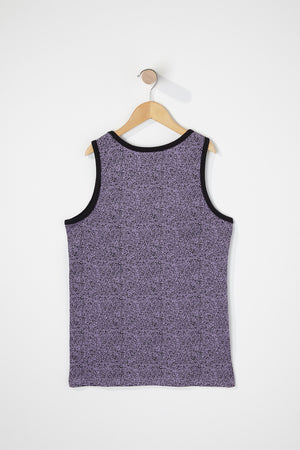 West49 Boys Cotton Speckle Pocket Tank