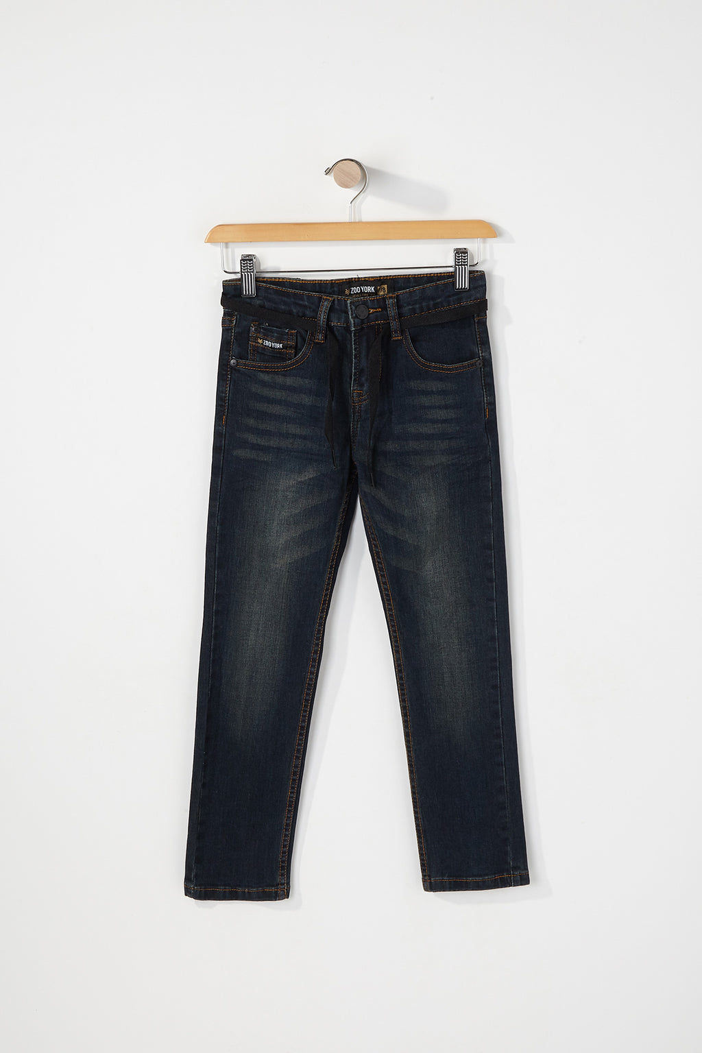 Zoo York Boys Dark Wash Skinny Jeans