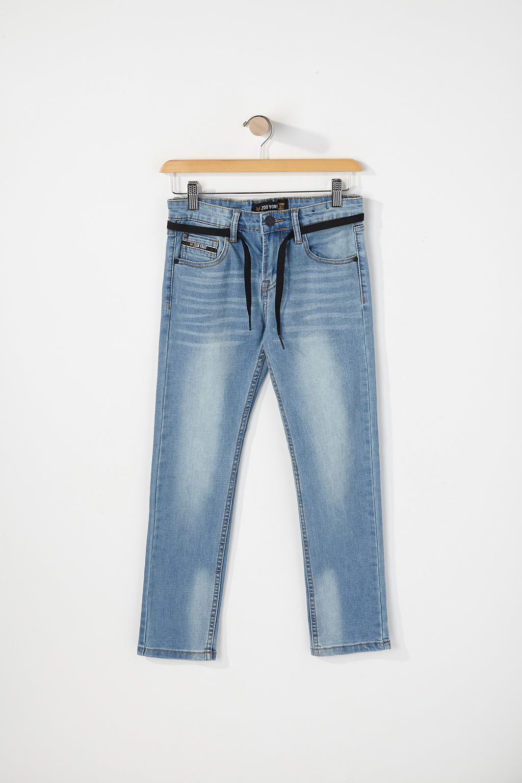 Zoo York Boys Light Wash Skinny Jeans