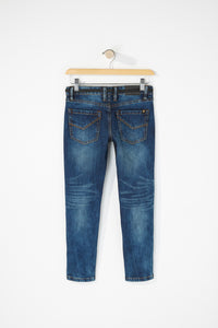Zoo York Boys Super Skinny Dark Blue Jeans