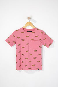 West49 Boys Graphic Pocket Tee