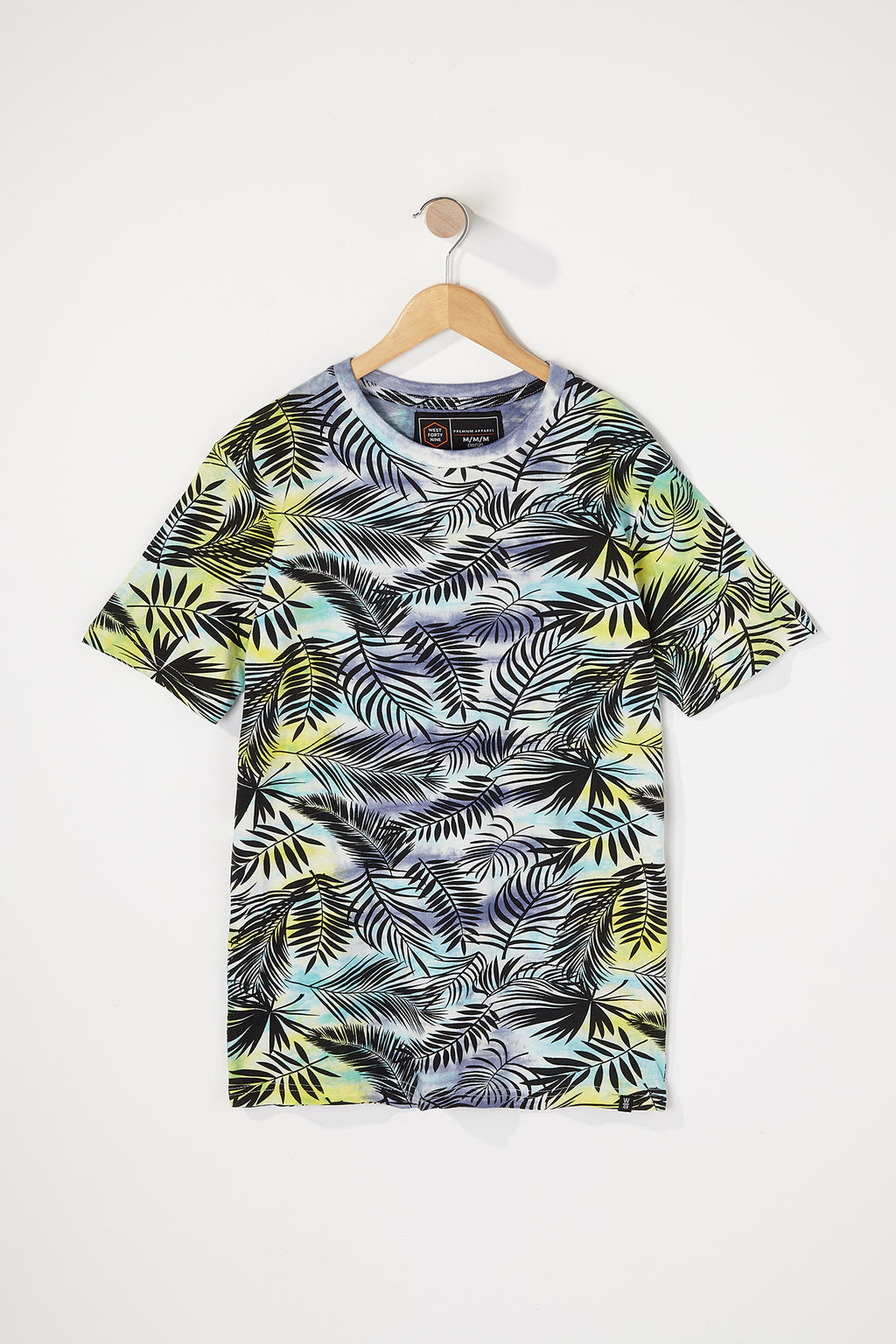 West49 Boys Tie-Dye Palm Tree T-Shirt