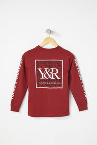 Young & Reckless Boys Floral Long Sleeve