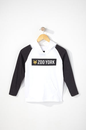 Zoo York Boys Hooded Long Sleeve