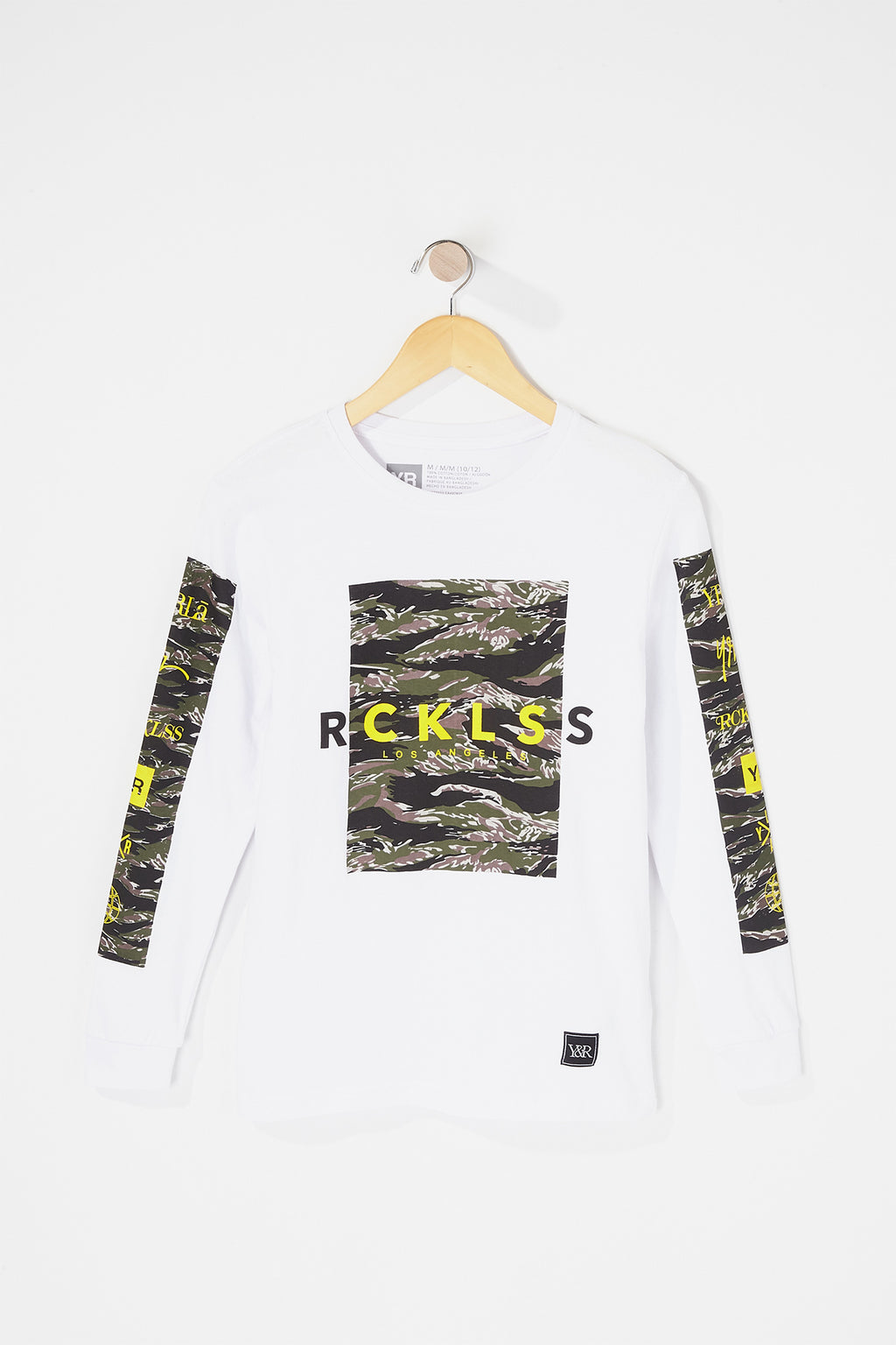 Young & Reckless Boys Camo Long Sleeve