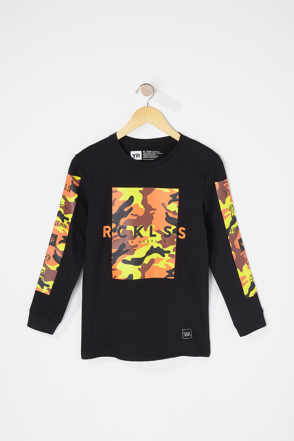 Young & Reckless Boys Tiger Camo Long Sleeve