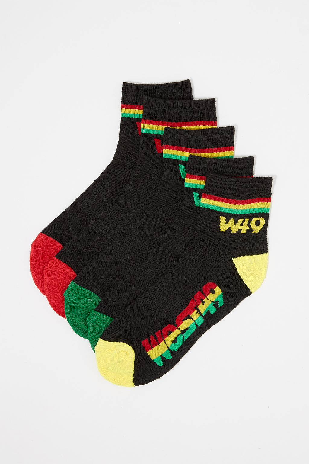 West49 Boys Athletic Crew Socks (5 Pairs)