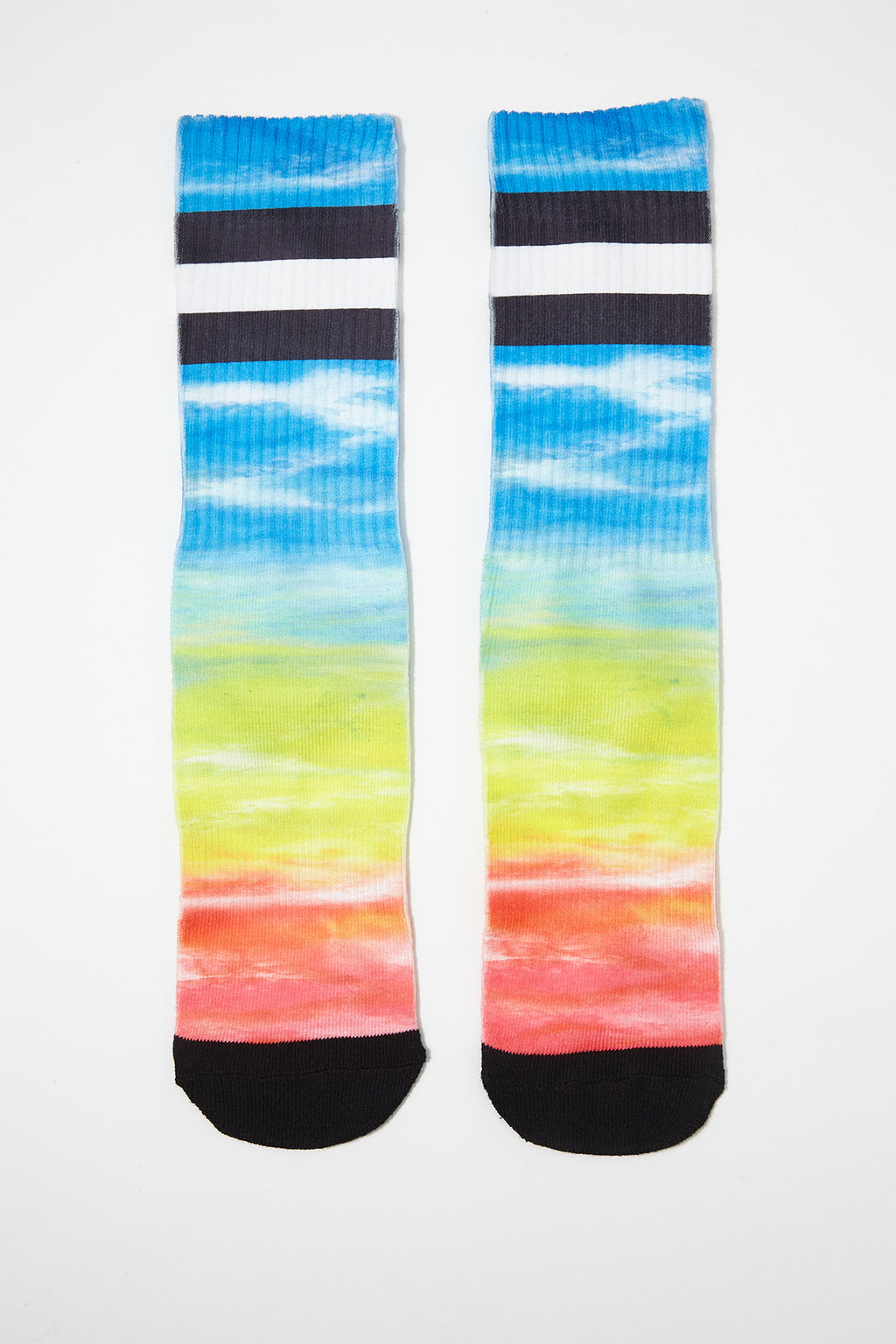 Zoo York Mens Rainbow Crew Socks