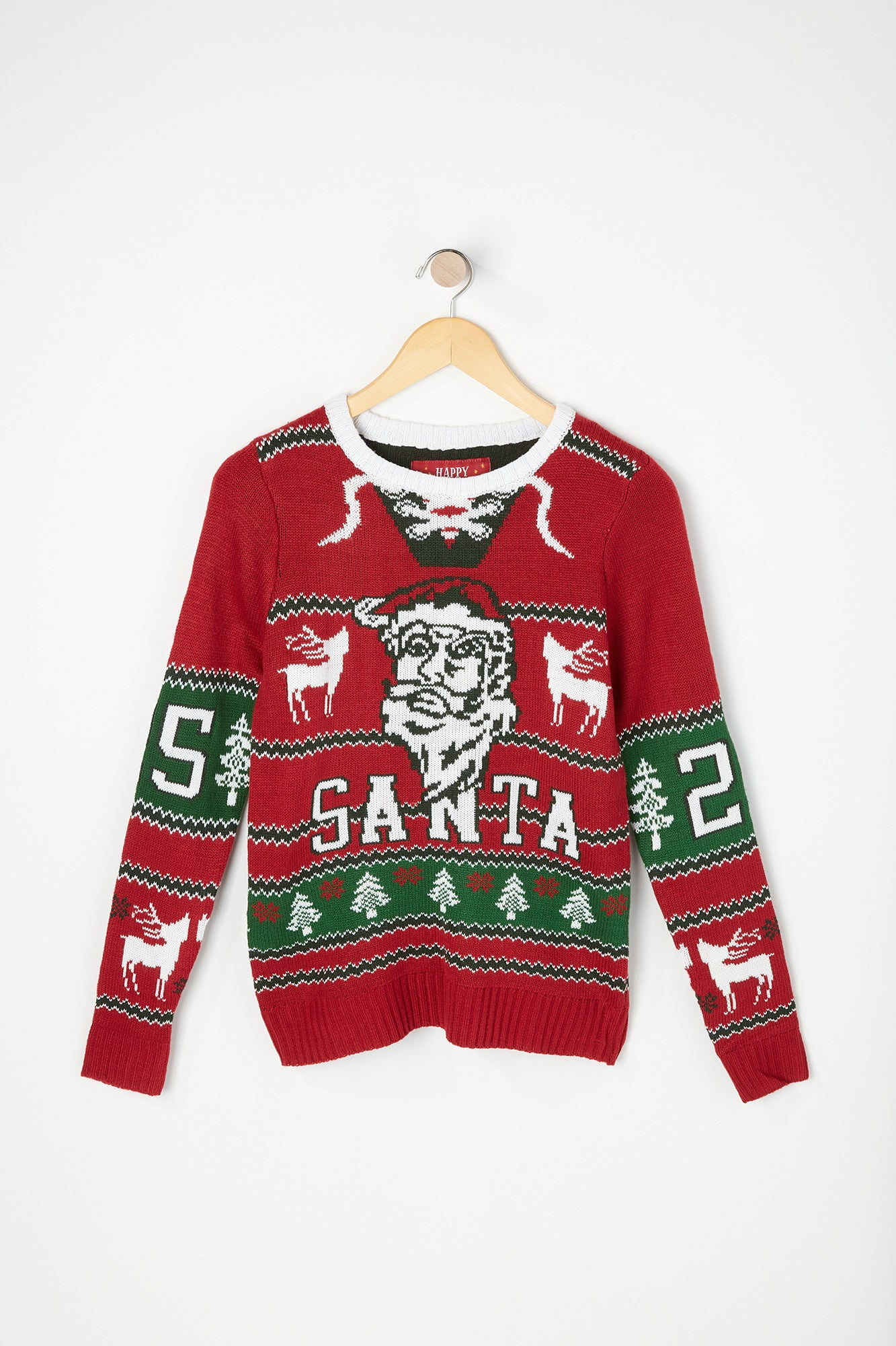 West49 Boys Varsity Santa Ugly Christmas Sweater