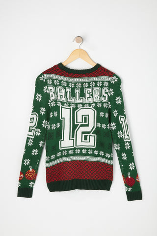West49 Boys Varsity Ballers Ugly Christmas Sweater