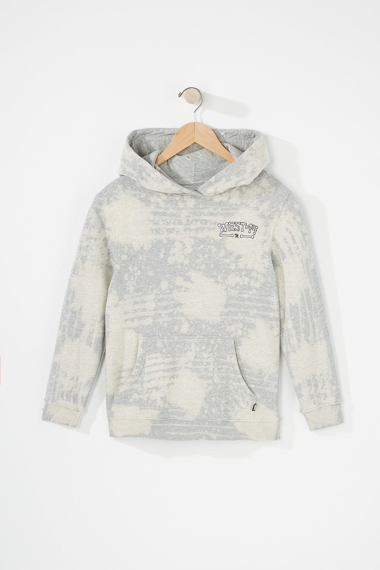 Evolve X West 49 Youth  Bleach Grey Hoodie