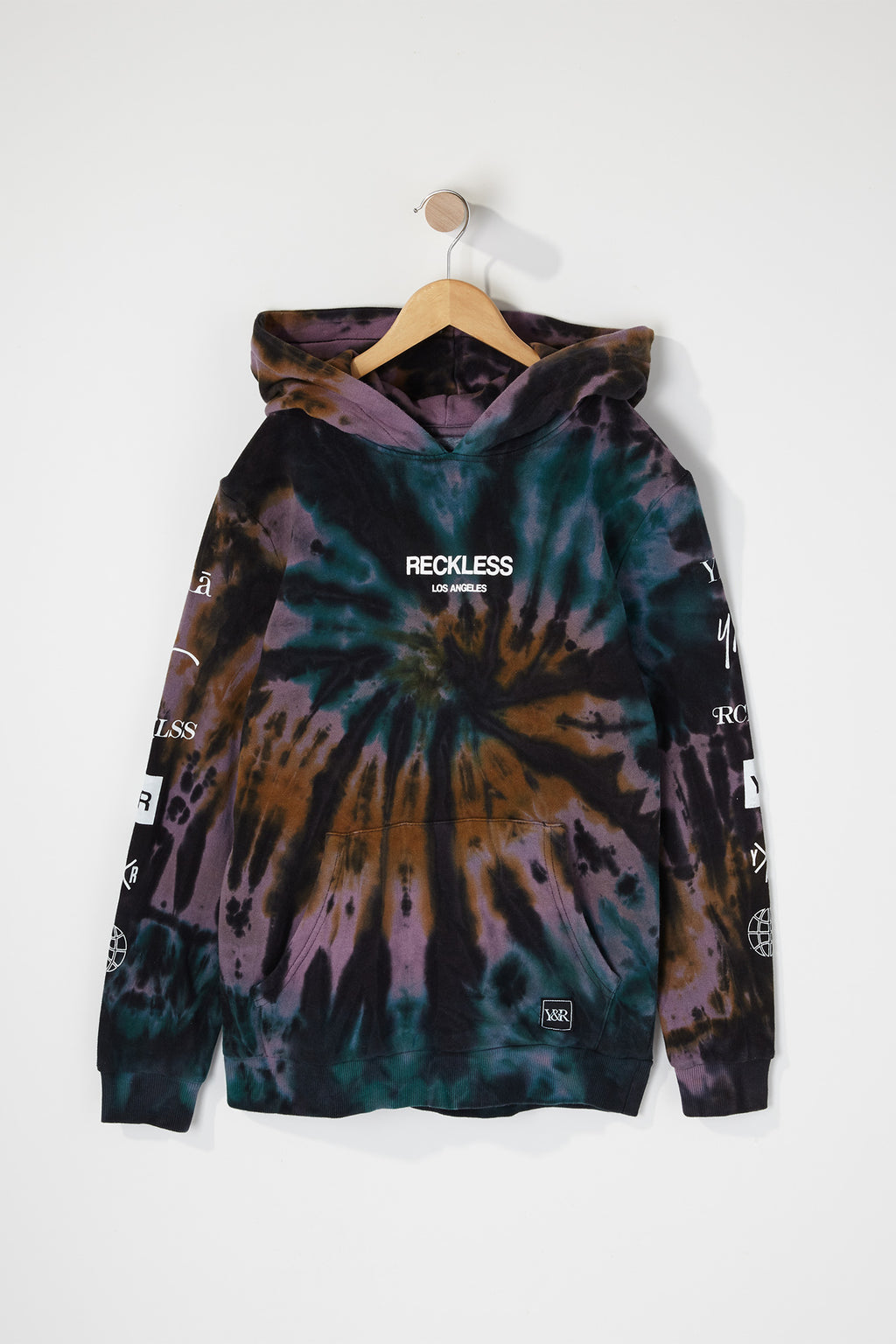 Young & Reckless Boys Tie Dye Hoodie