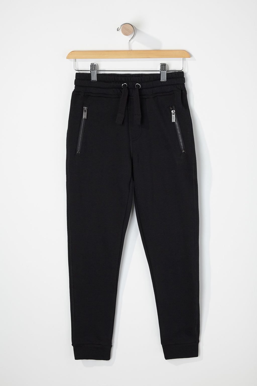 West49 Boys Solid Zip-Up Joggers