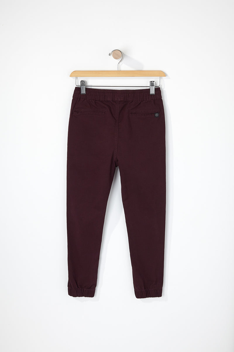 West49 Boys Solid Twill Basic Jogger