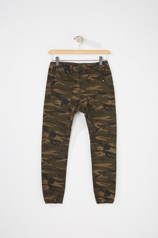 Zoo York Boys Camo 5-Pocket Jogger