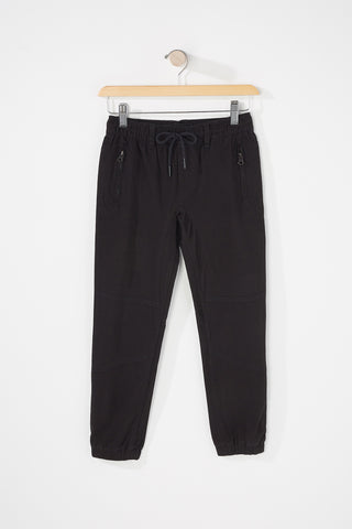 Zoo York Boys Zippered Pockets Joggers