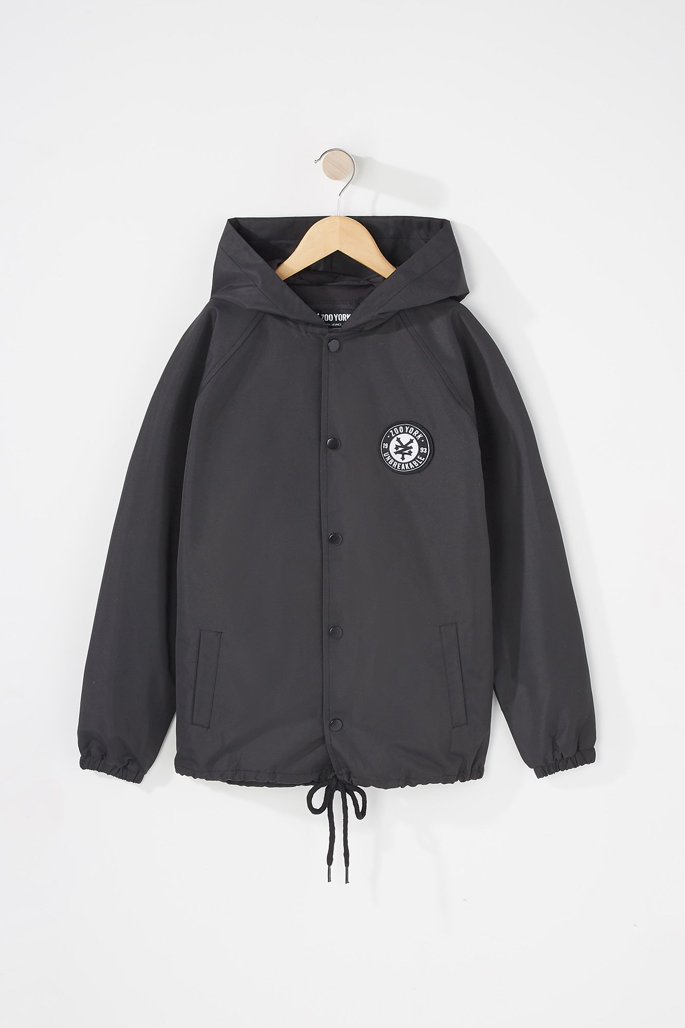 Zoo York Youth Hooded Coaches Jacket