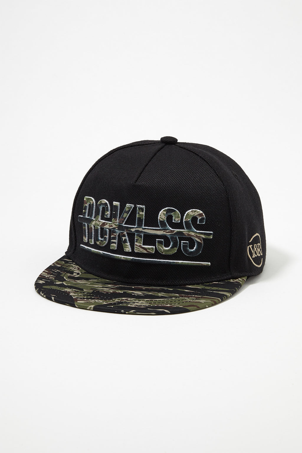 Young & Reckless Boys Camo Logo Snap Back Hat
