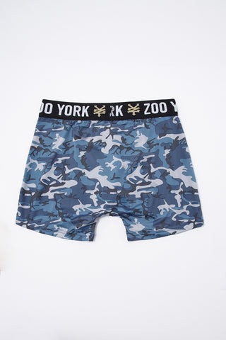 Zoo York Youth Blue Camo Boxer Brief