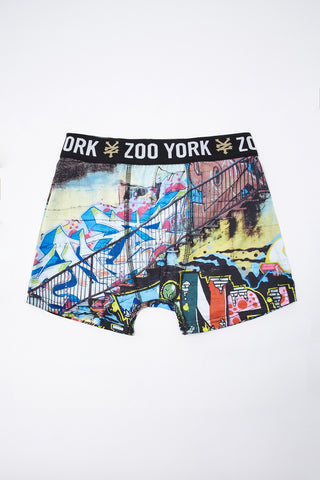 Zoo York Youth Graffiti Boxer Brief