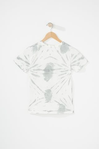 Evolve X West 49 Youth White Skull Tee