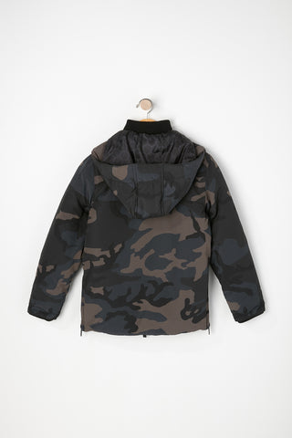 West49 Boys Camo 4-Pocket Parka