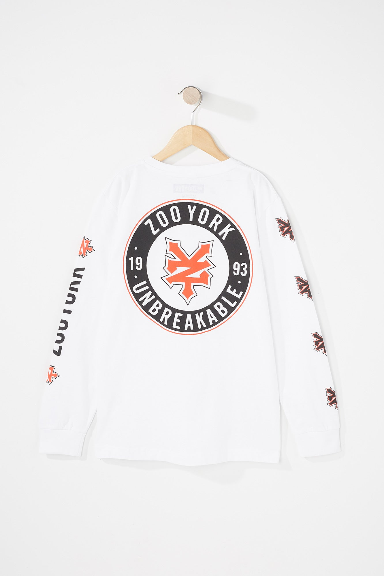 Zoo York Boys Circle Logo Long Sleeve
