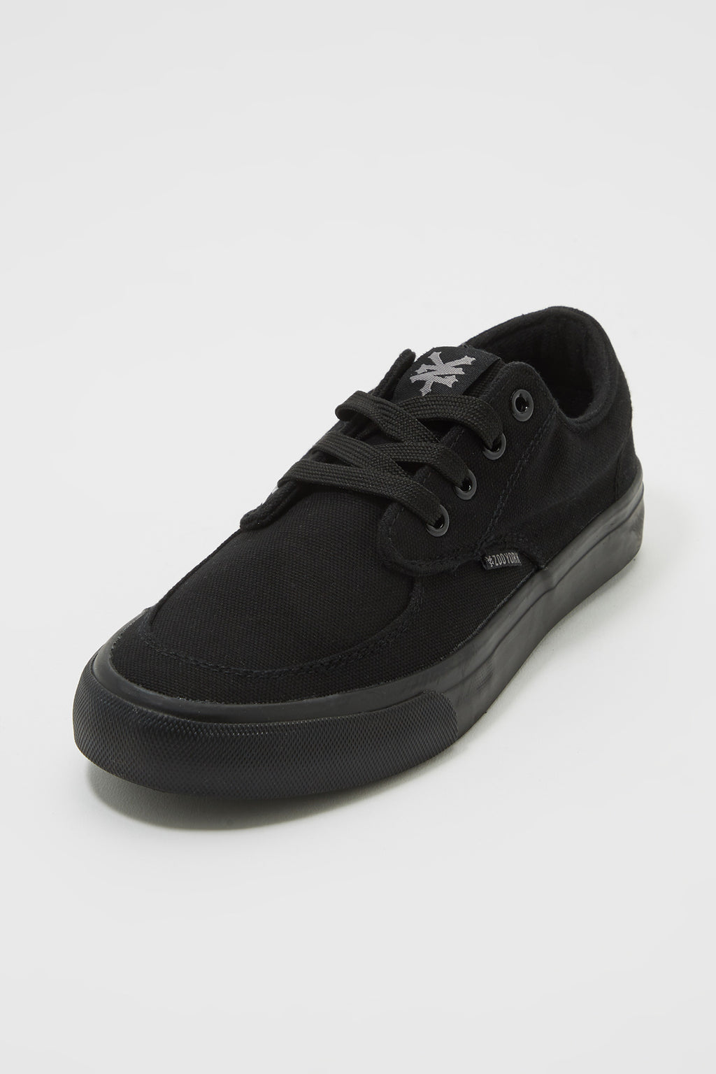 Zoo York Mens All Black Ryan Canvas Shoes