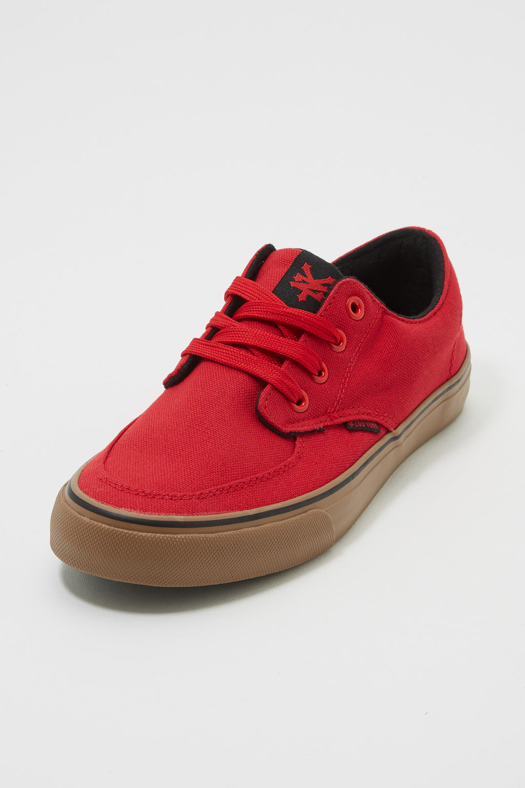 Zoo York Mens Red Ryan Canvas Shoes