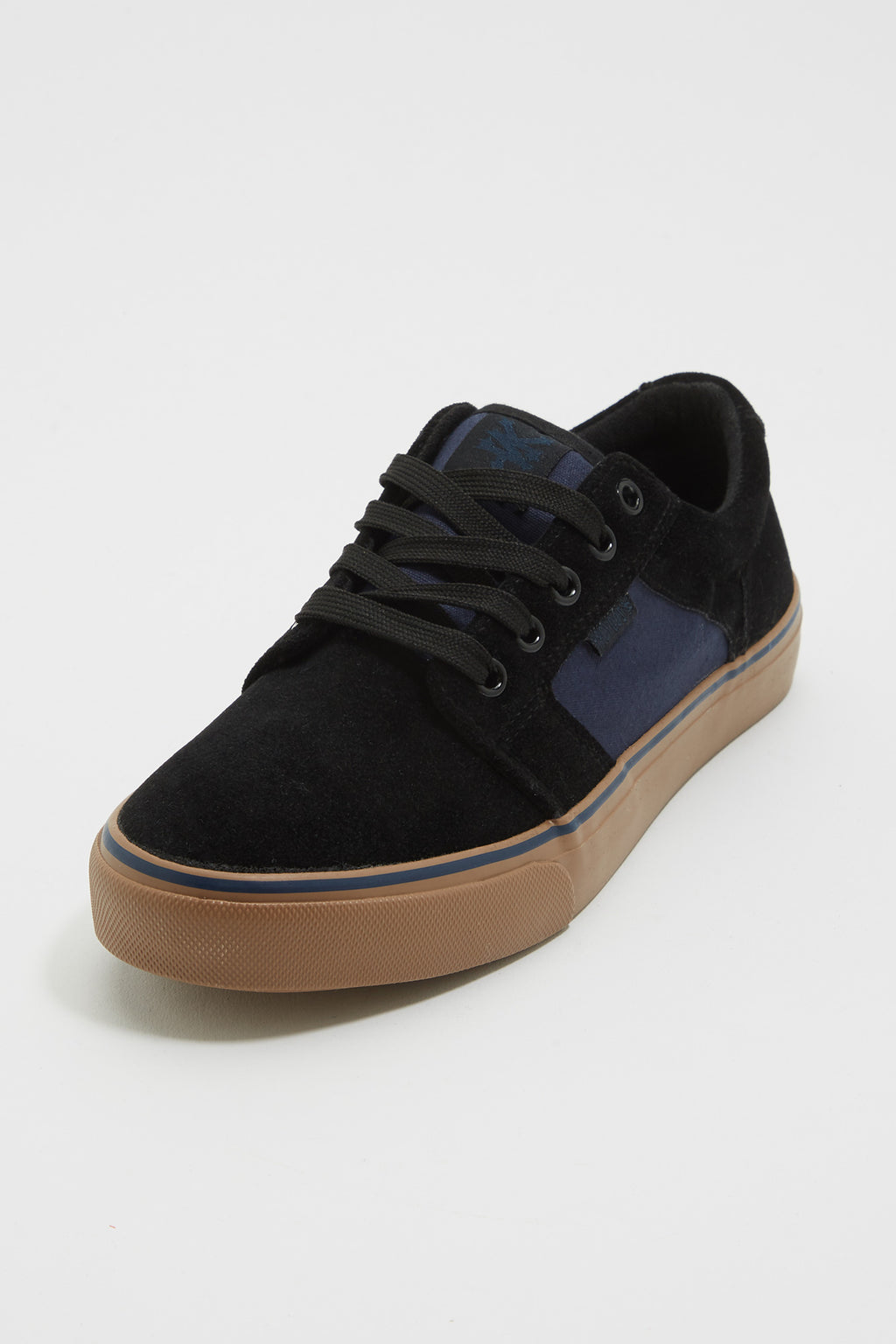Zoo York Mens Blue and Black Canvas Lace Up Shoes