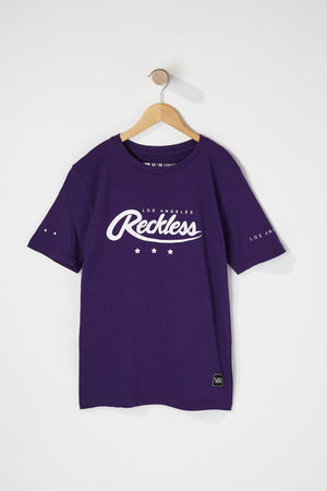 Young & Reckless Boys Logo Graphic T-Shirt