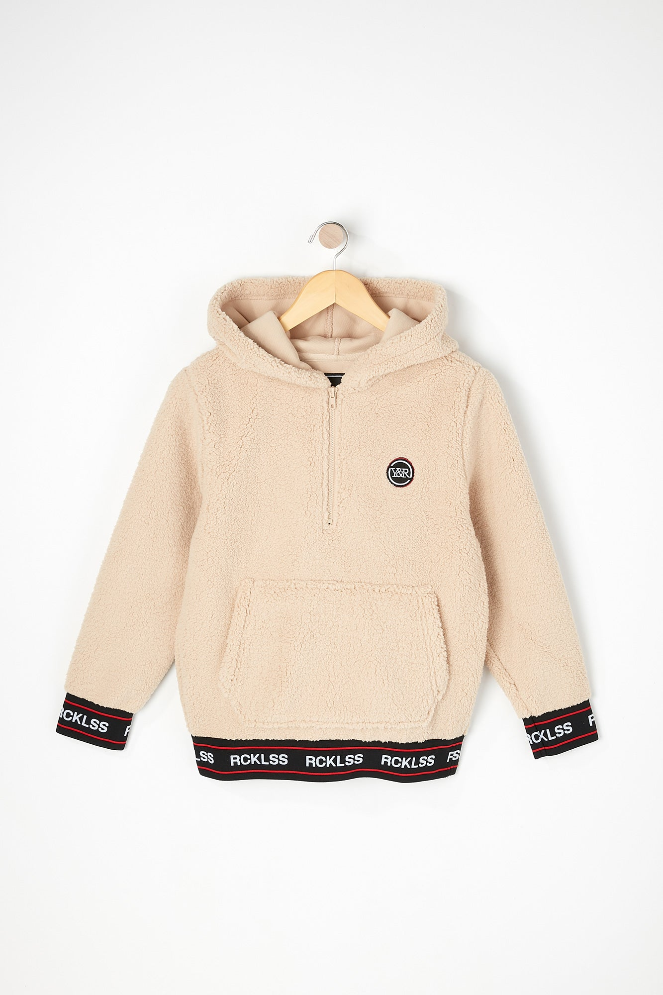 Young & Reckless Boys Sherpa Hoodie
