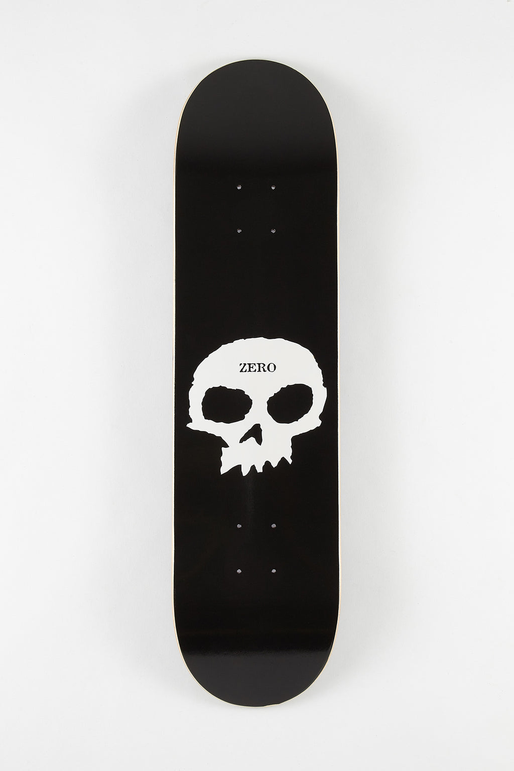 Zero Single Skull 8.25 Skateboard Deck