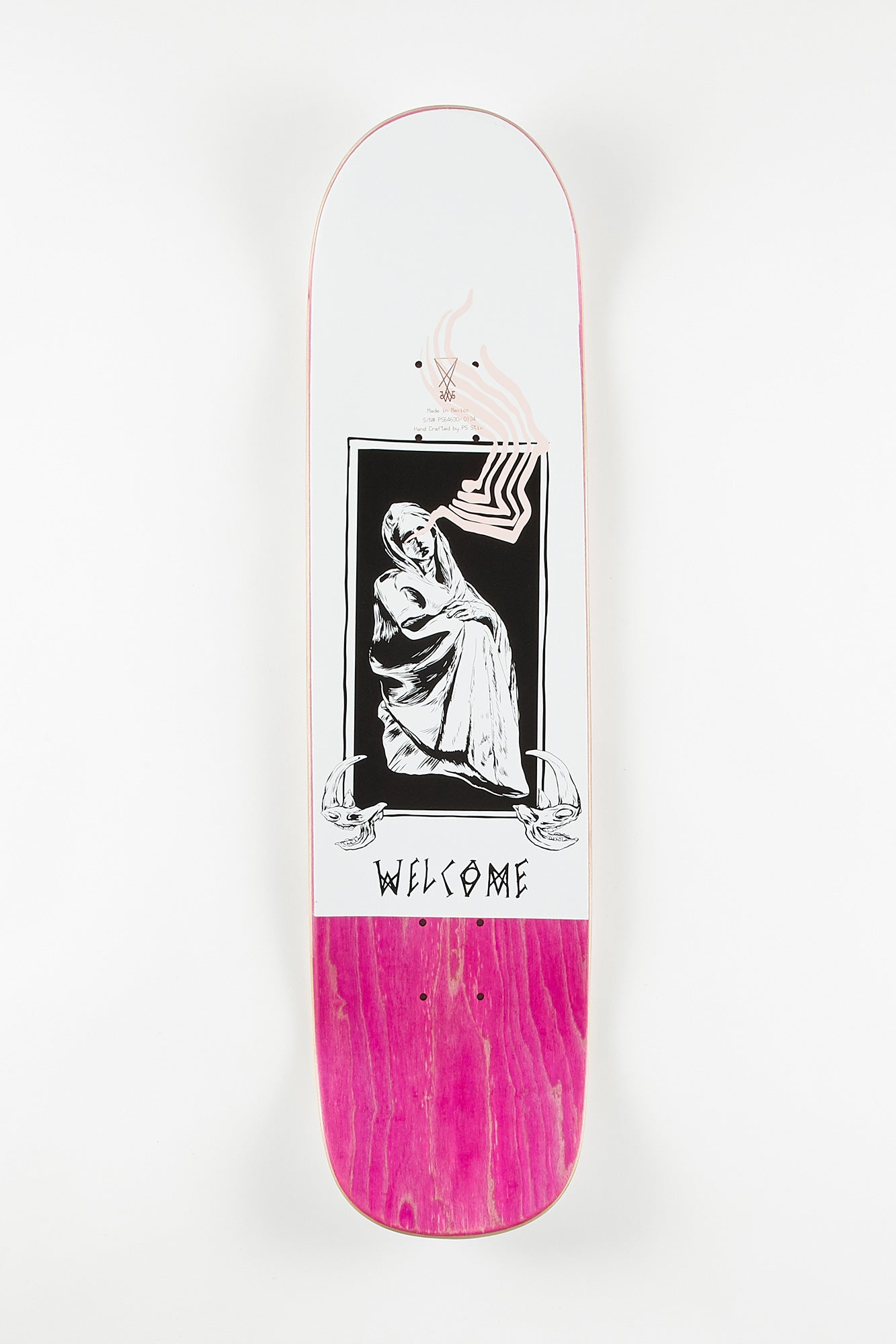Welcome Manned Wolf 8.25 Skateboard Deck