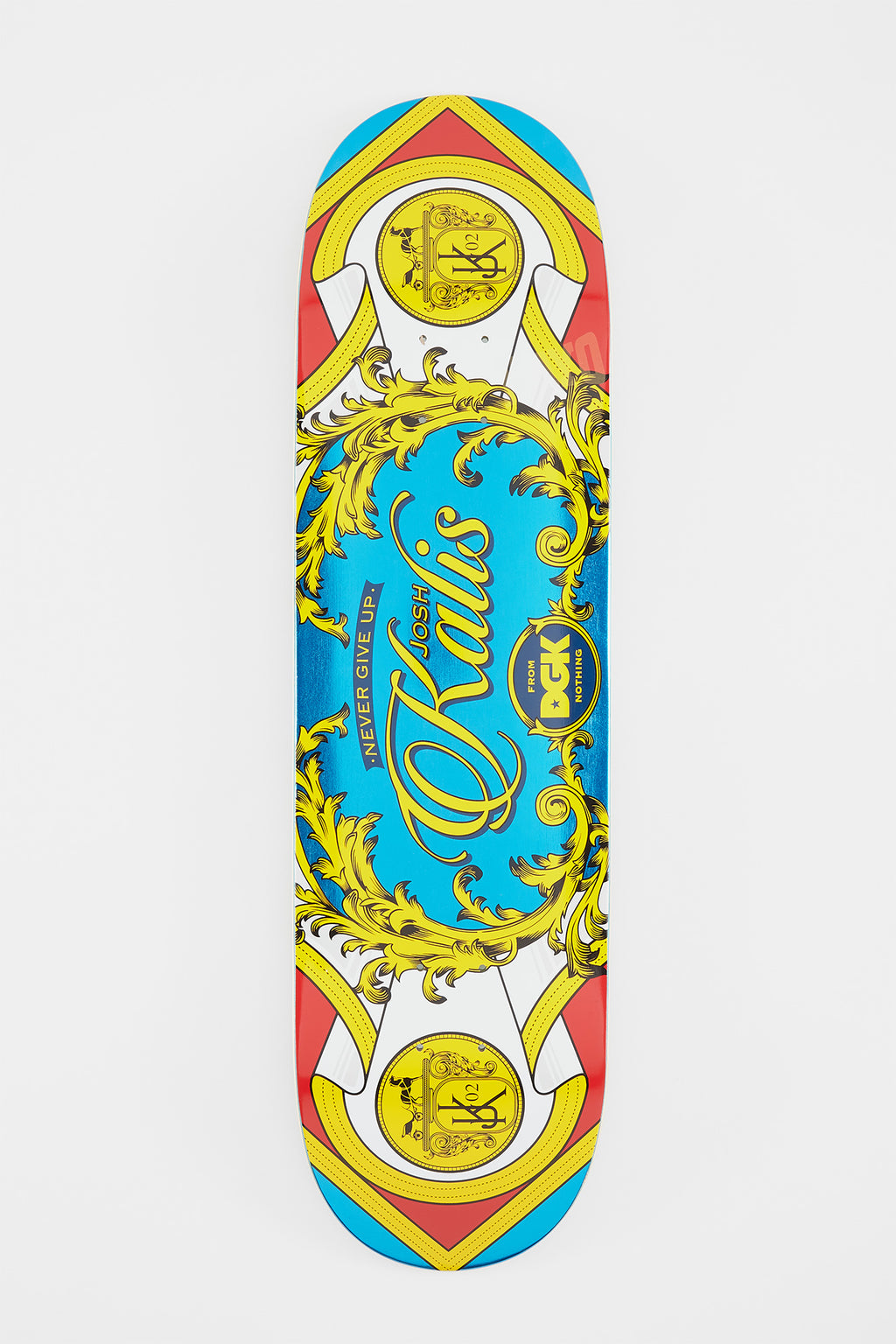 DGK Luxury Series Kalis Skateboard Deck 8""
