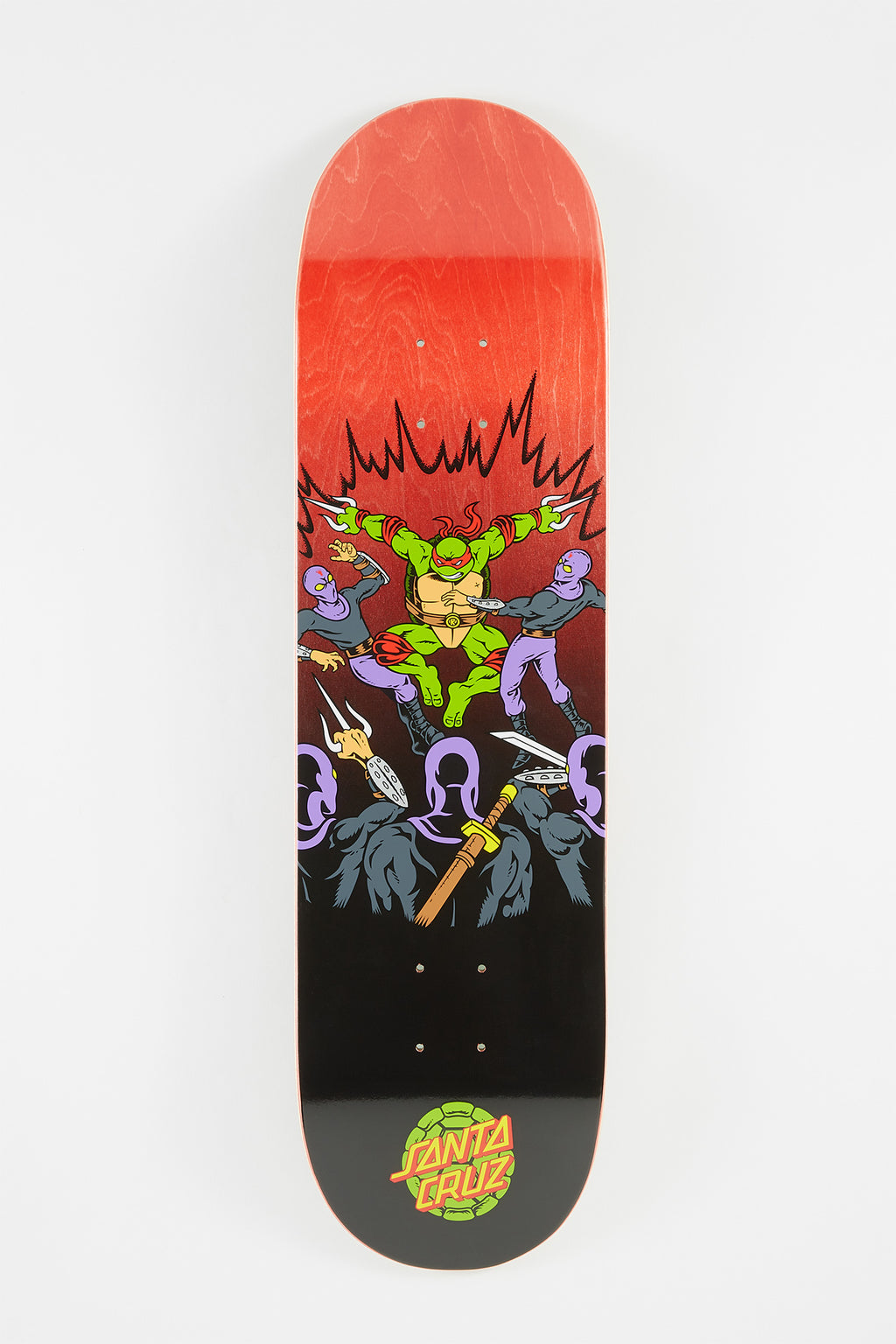 Ninja Turtles x Santa Cruz Raphael Skateboard Deck