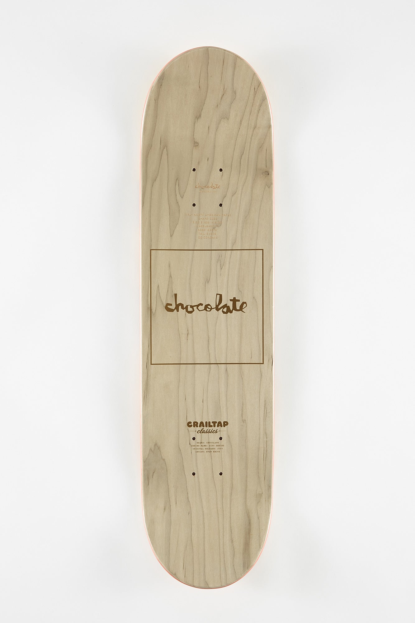 Chocolate City Anderson Skateboard Deck 8.125""