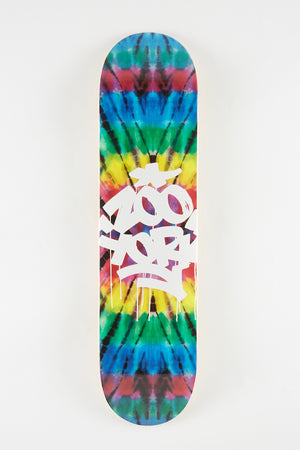 Zoo York Tie Dye Skateboard Deck 7.75""
