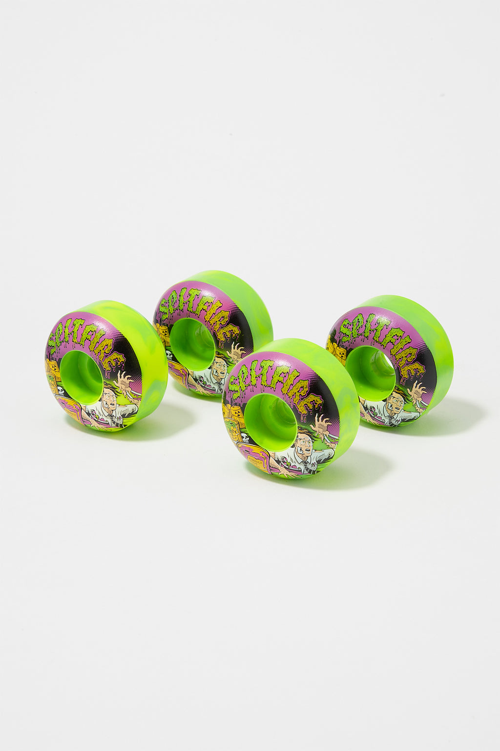 Spitfire F4 Toxic 52mm Skateboard Wheels