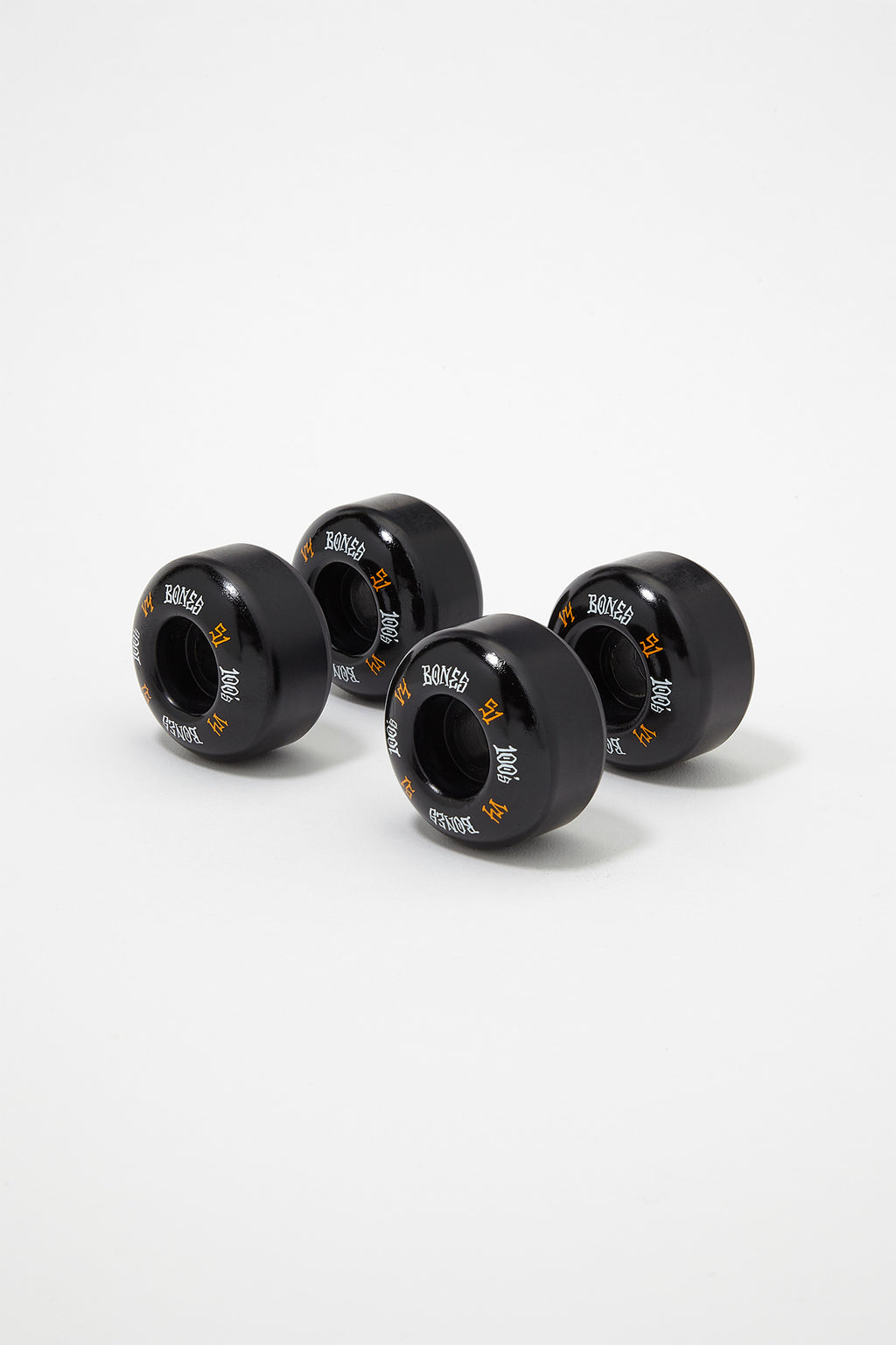Bones Wheels 100's V4 4-Pack Skateboard Wheels