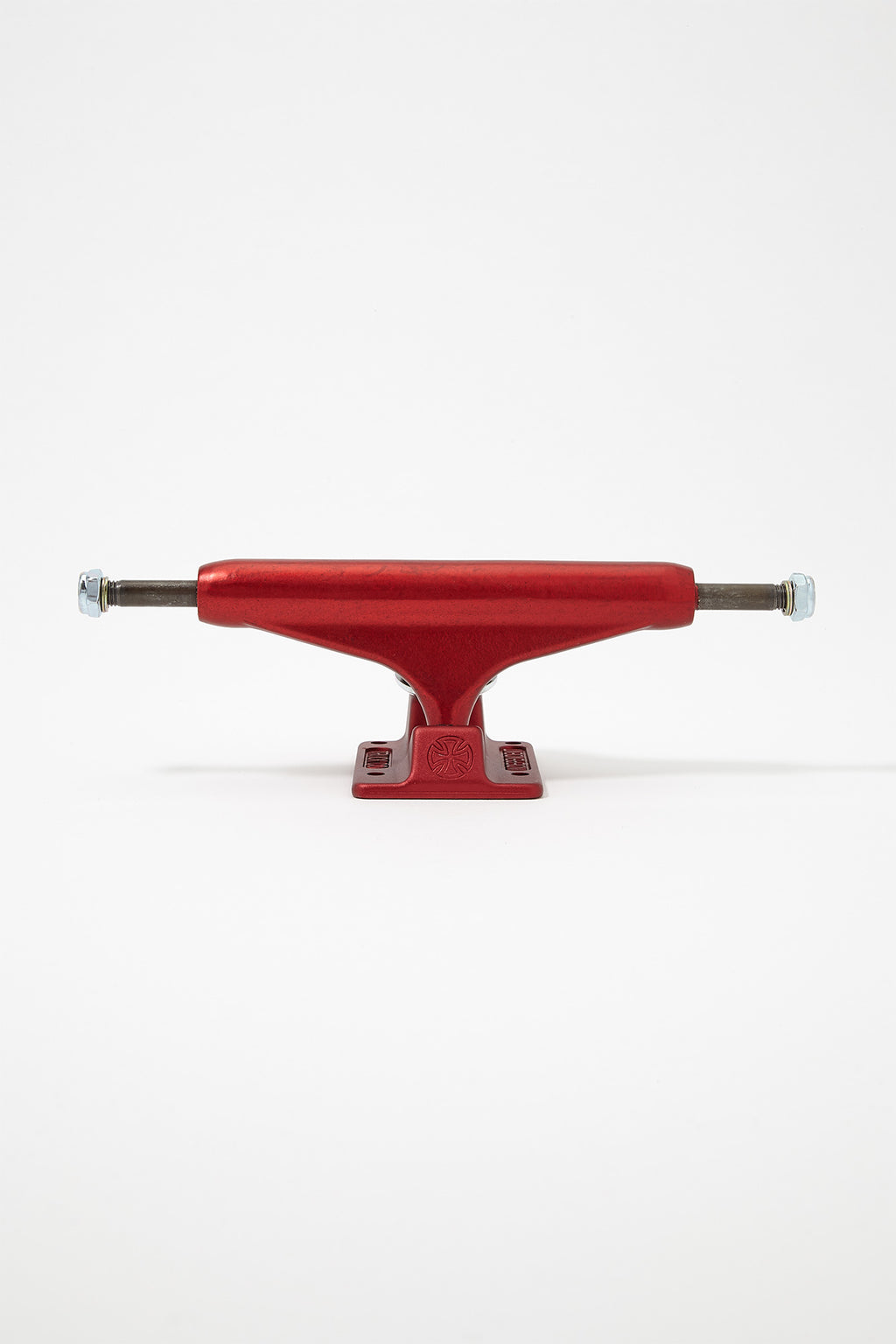 Independent Stage XI Forged Hollow Trucks 144mm Ano Red