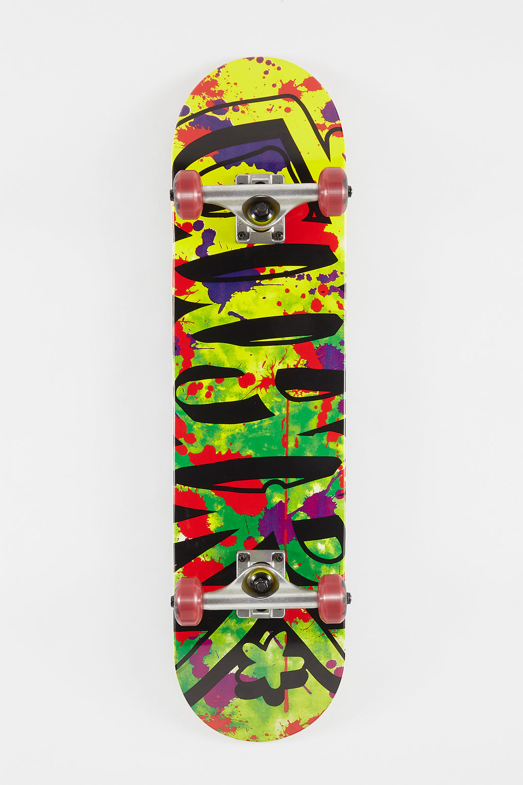 Zoo York Glitched Skateboard - 7.75""
