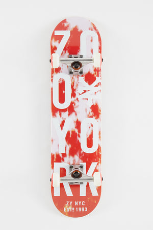 Zoo York Tie Dye Skateboard - 7.75""