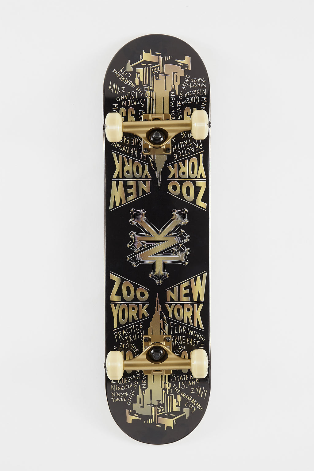Zoo York Golden City Skateboard - 8""
