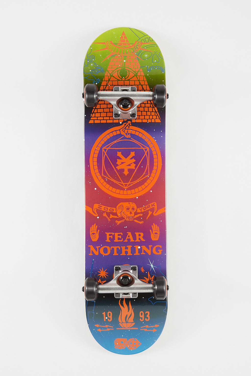 Zoo York Mystic Skateboard - 7.75""