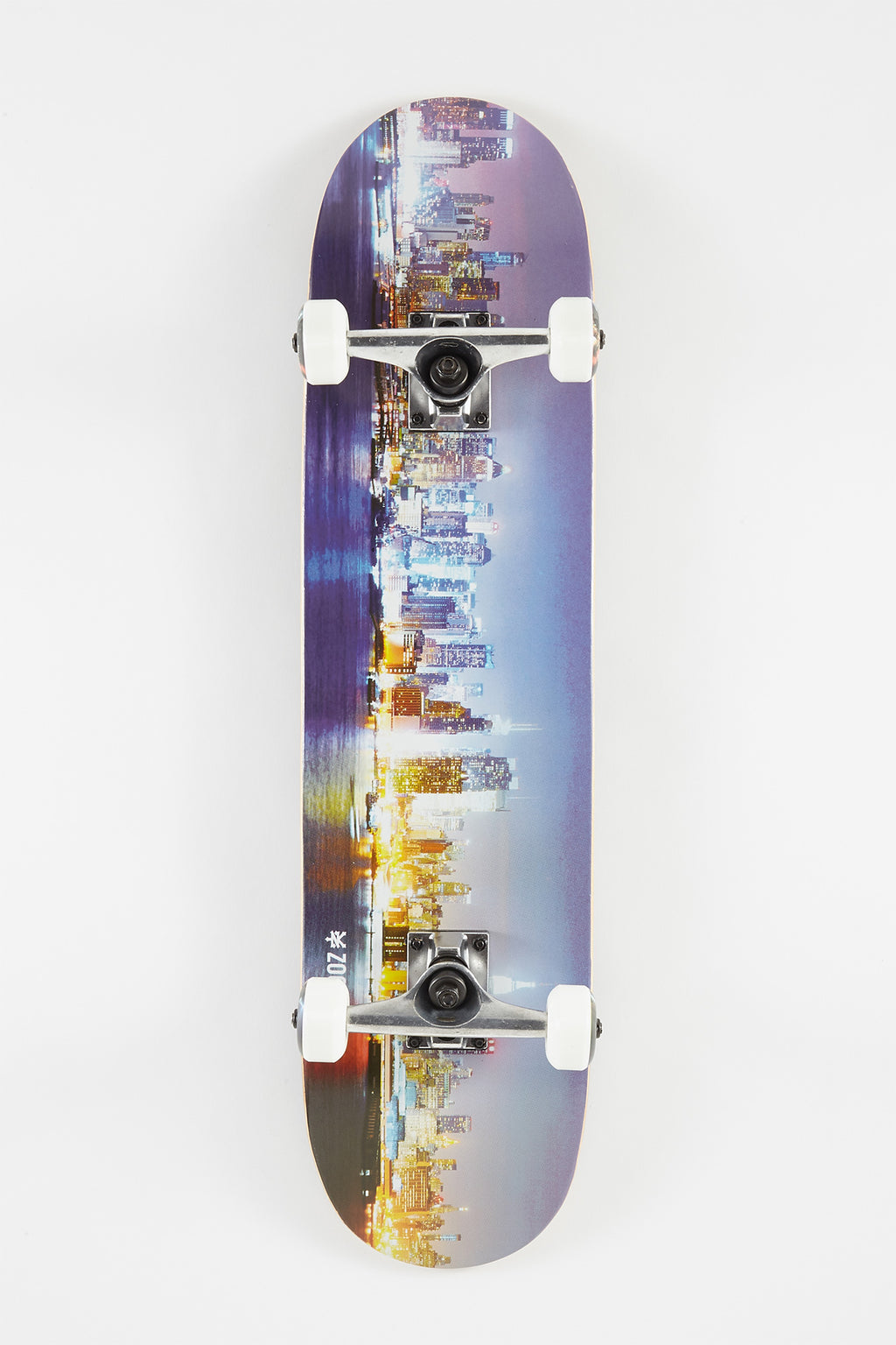 Zoo York Night Skyline Skateboard 7.5""