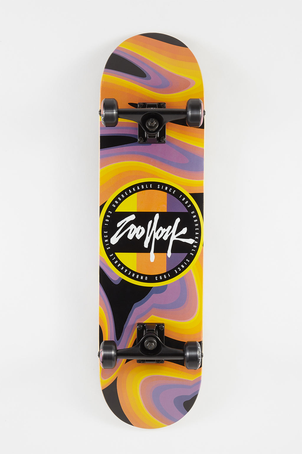 Zoo York Circle Galaxy Skateboard 8""