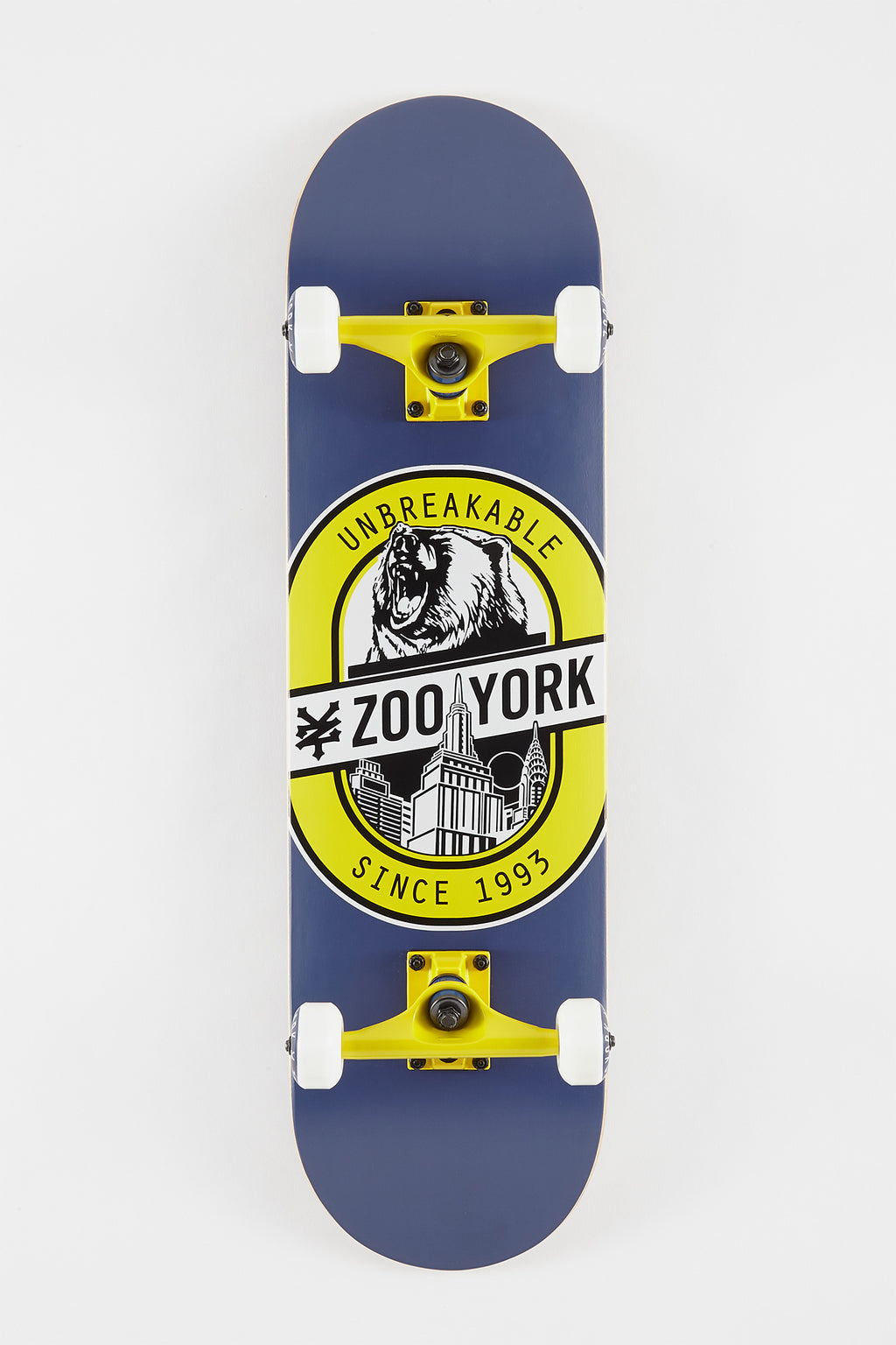 Zoo York Beer Bear Skateboard - 8.25""