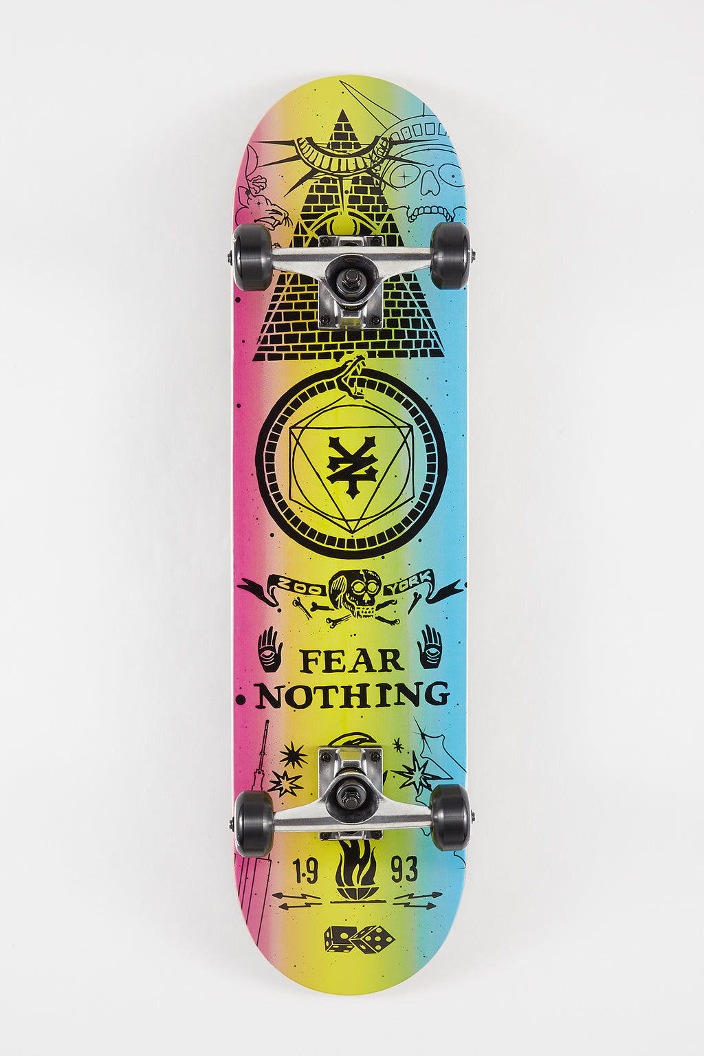 Zoo York New Mystic Skateboard - 7.75""