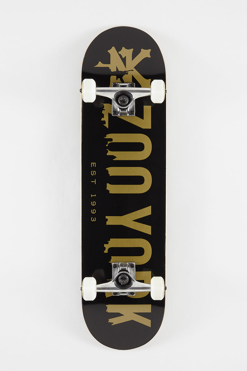 Zoo York Tiny City Skateboard - 8""